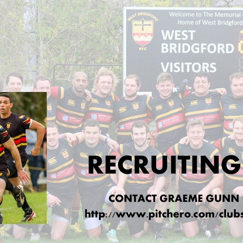 Recruiting Now - Students - Mens & Ladies