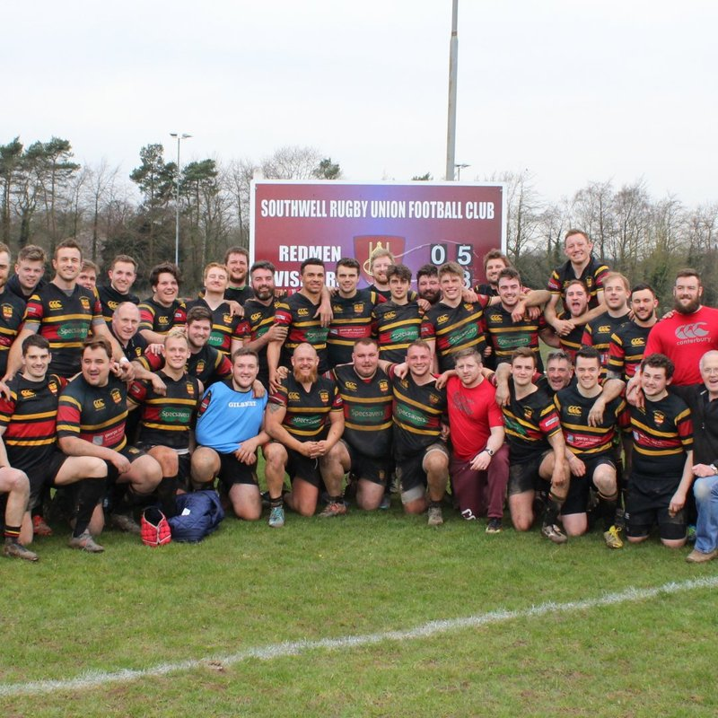1st XV Promoted as Champions to Midlands 1