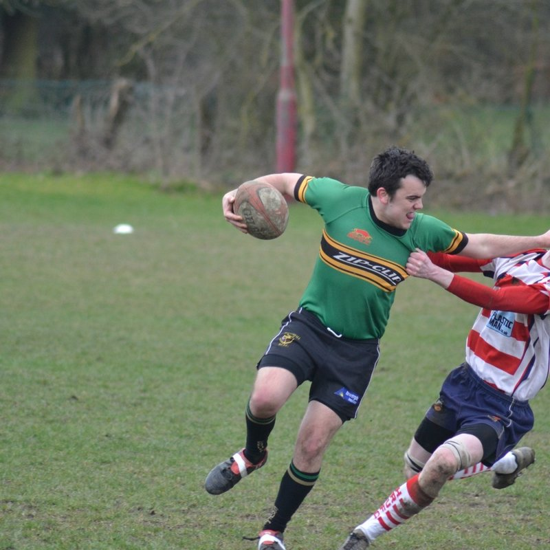 ERUFC work hard and hold on against a strong Handsworth side.