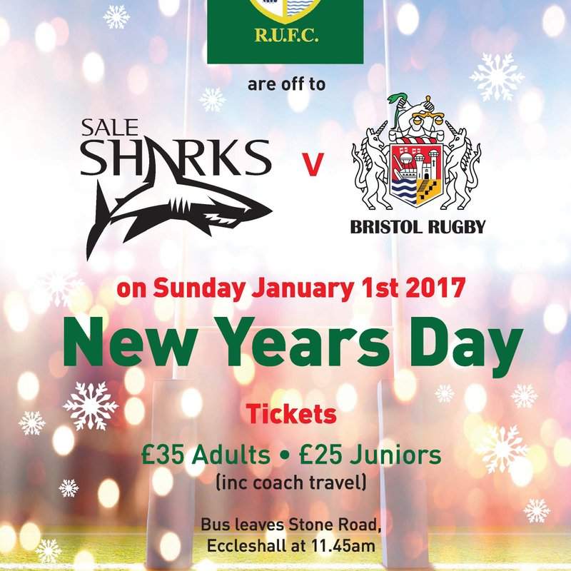 Eccleshall RUFC Christmas Trip Is Back And We Are Off To Sale