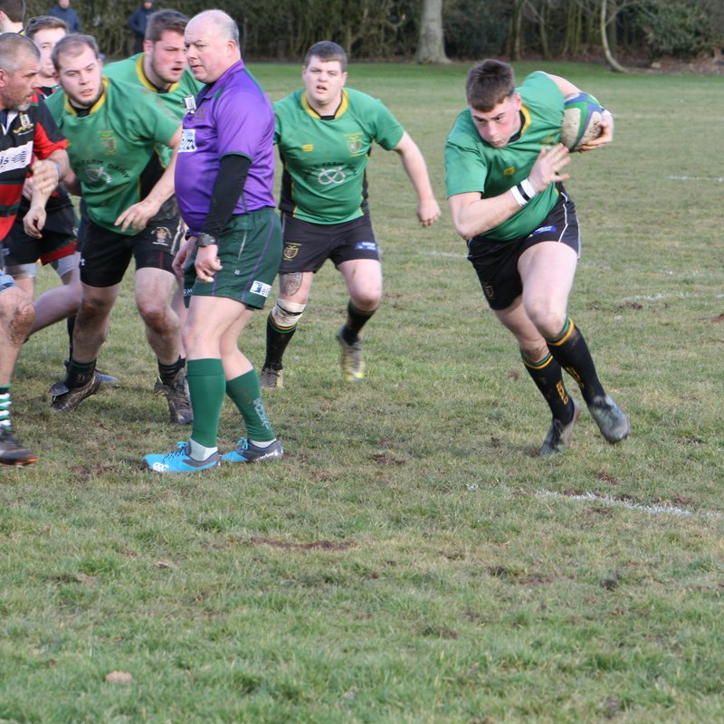 ERUFC 1XV blow Bloxwich away with outstanding first half performance
