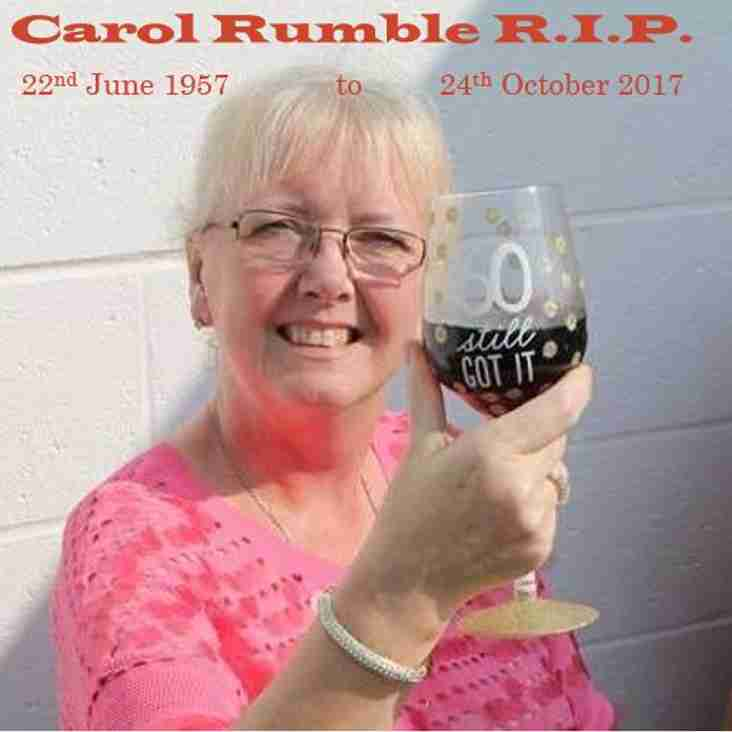Carol Rumble Funeral Arrangements 7th November 2017