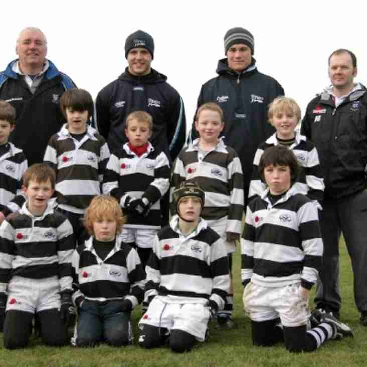 MINI / JUNIOR RUGBY RETURNS TO TRAFFORD MV ON SUNDAY JAN 6TH