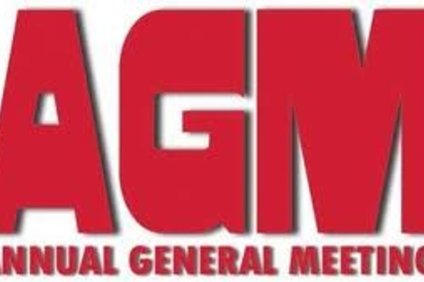 RUGBY AGM 2018/19 Season Thursday 9TH May 8:00pm
