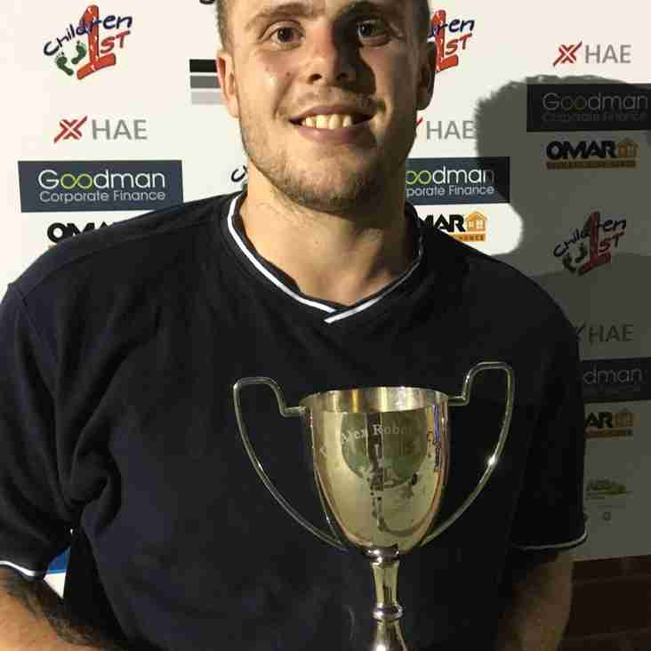 Tom Tucker Awarded Long Eaton Player's Player of the Year