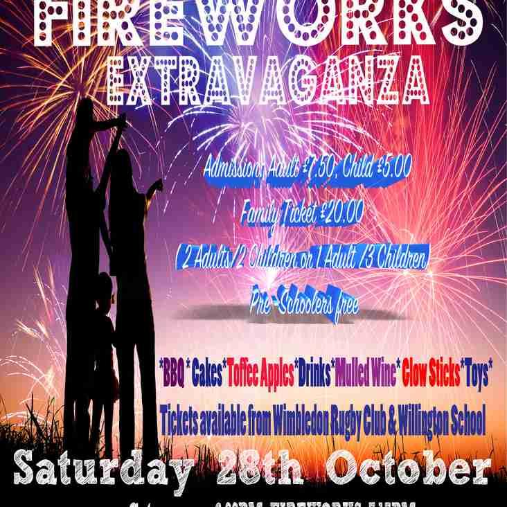 Wimbledon Fireworks - 28 October 2017