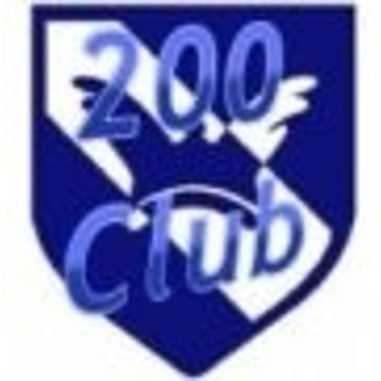 200 Club - Winners