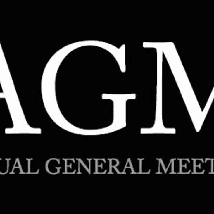 AGM DATE CHANGED