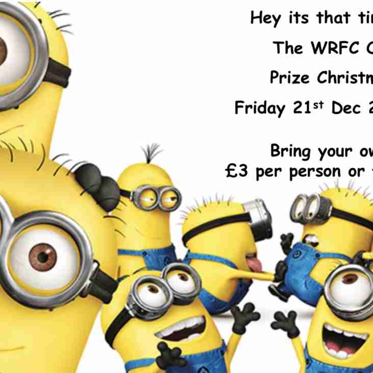 'Old Farts' Prize Christmas Quiz - Friday 21st Dec 7.30pm