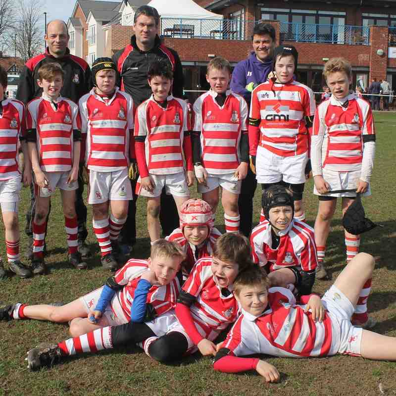 U11 on Tour March 2015