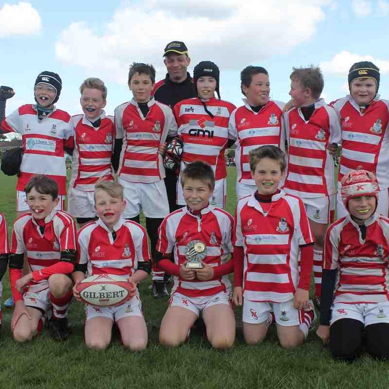 U11 at Harrogate Rugby Festival 26th April 2015