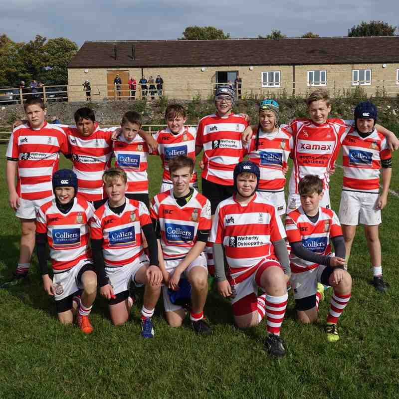 U14 away to Wensleydale 24th September 2017