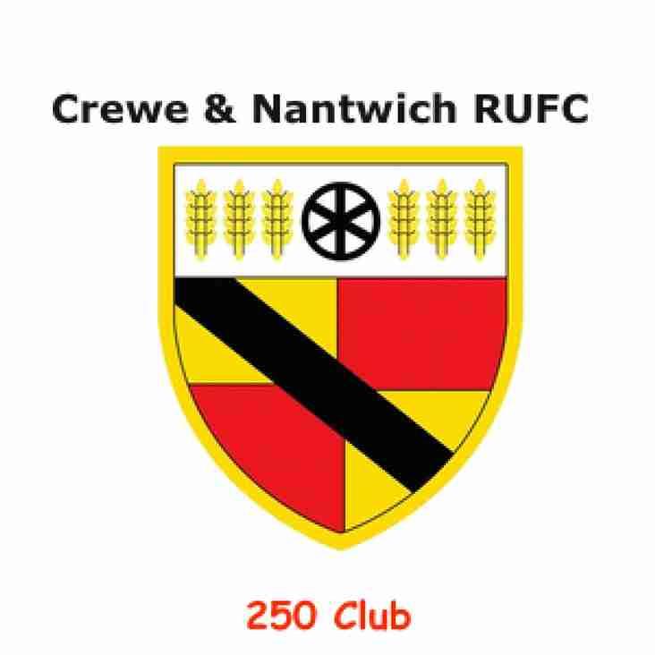 November & Decembers 250 Club Winners