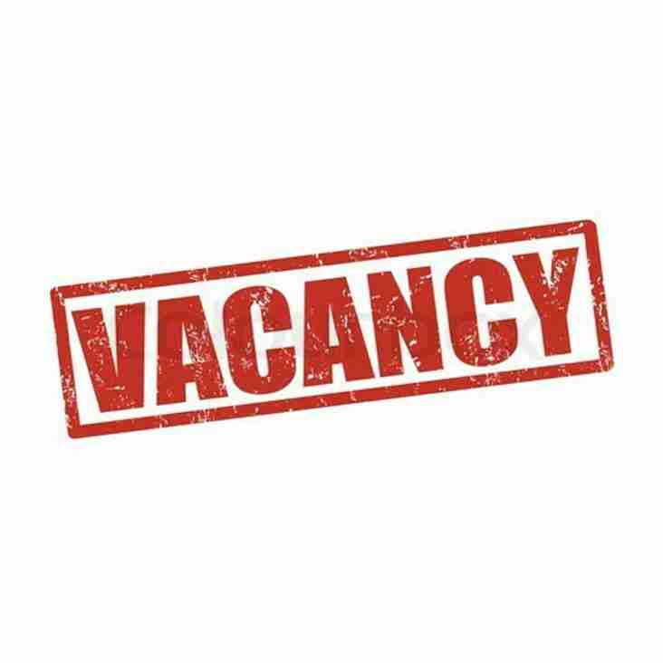 Vacancy – Coach CNRUFC Women 1st XV