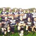 Barbarians Vets have a run out