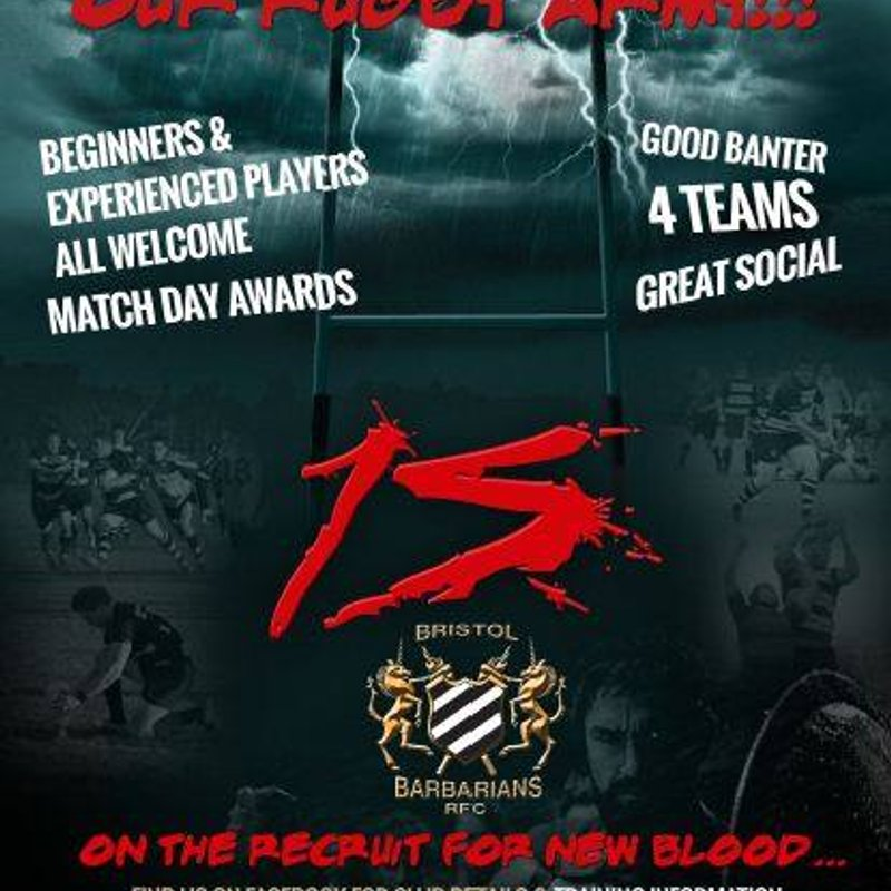 Barbarians 2nds are back for 2017