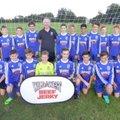 Heyford U16 lose to Daventry Town Saxons 1 - 3