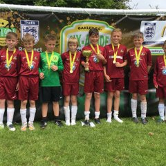 Oakley (Basingstoke) 6-Asides  U11  Winners 29/05/2016