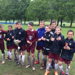 St Francis YFC Tournement U12's Winners 21/05/2015
