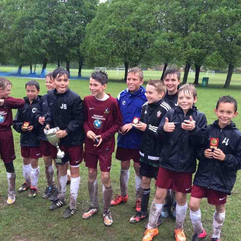 St Francis YFC Tournement U12's Winners 21/05/2015
