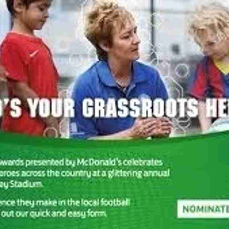 Nominate Your Grassroots Hero