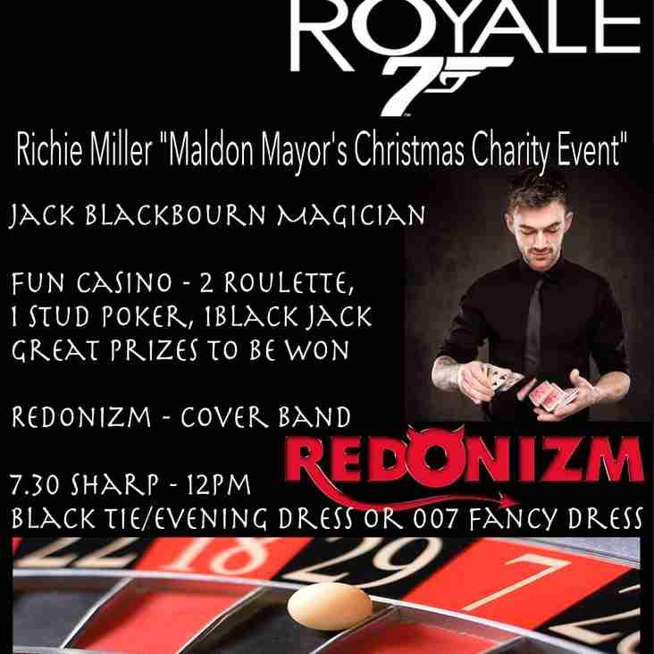 "Casino Royale (Richie MIller ""Maldon Mayor's Christmas Charity Event"")"