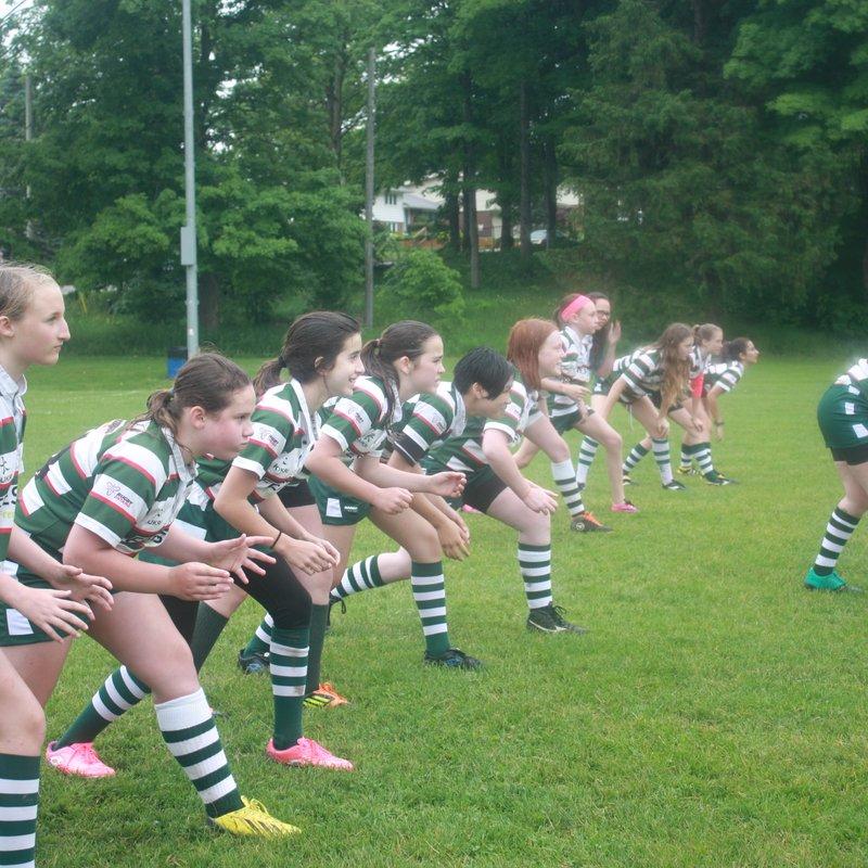 Under 13 Tackle - Girls lose to Crusaders RFC 65 - 35