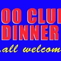 100 club dinner 2016!