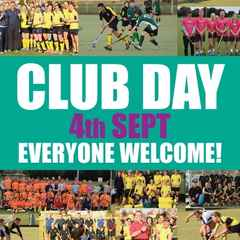 Date for your diary - Club Day 4th Sept