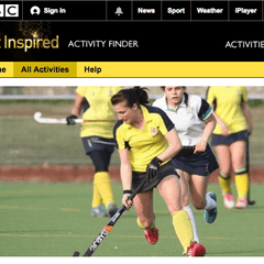 Eastbourne Hockey Club is on the BBC Get Inspired Activity Finder