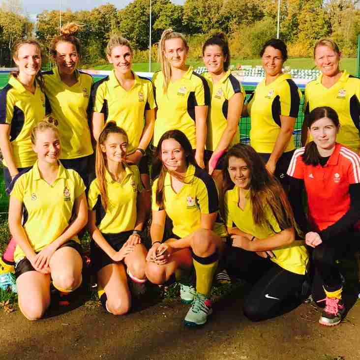 Eastbourne Ladies 1s travelled to Southampton for a hard fought score draw