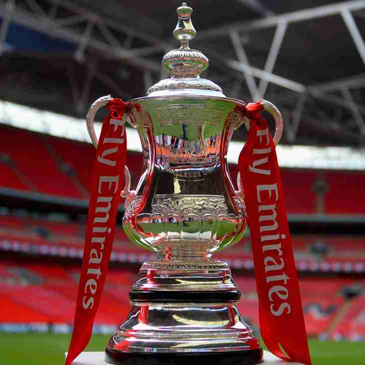 F.A. Cup Draw - Town Face Bedford