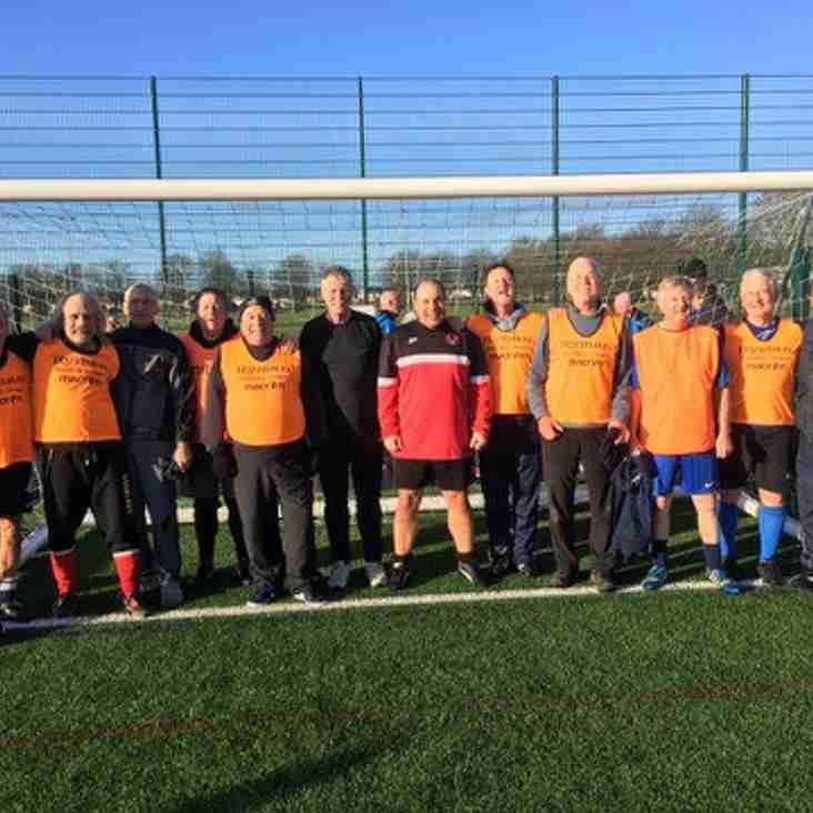 Walking Football Kicked-off At The Weekend