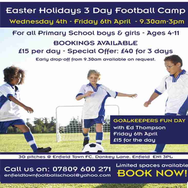 Easter Holidays - 3 Day Football Camp