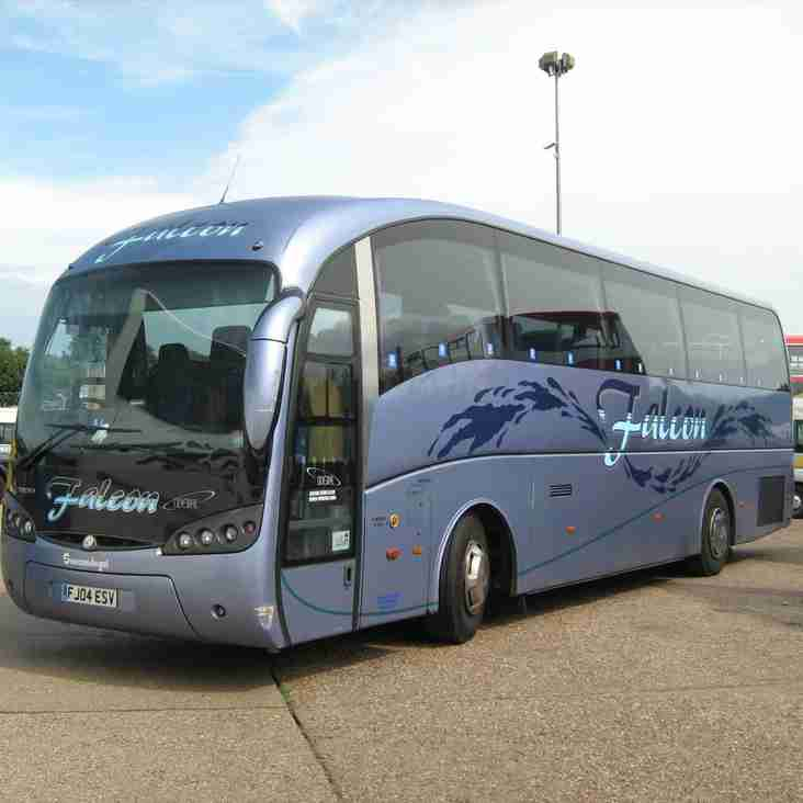 Supporters coaches: Velocity Cup Final - AFC Hornchurch