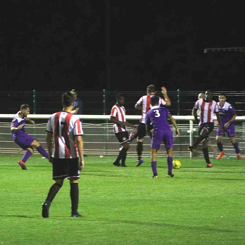 Brian Lomax Supporters Direct Cup vs Clapton Community