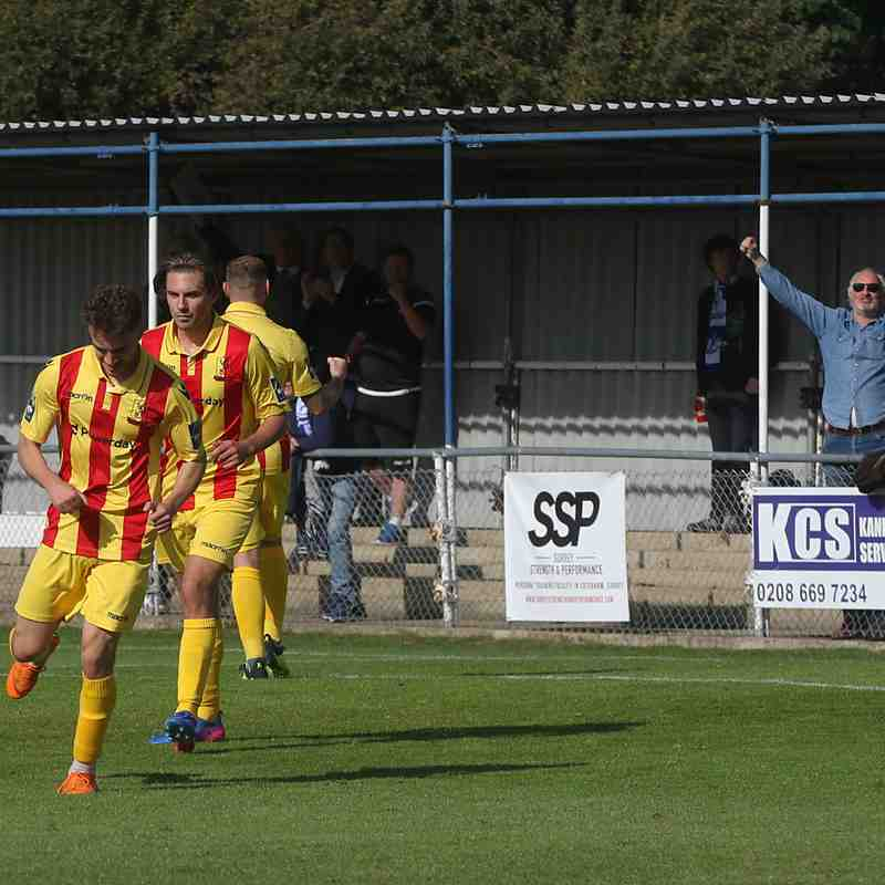 Corinthian Casuals v Enfield Town 29th Sept 2018