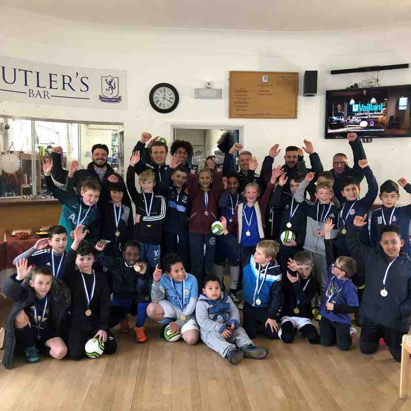 Enfield Town Football School End of Term (Dec'19)
