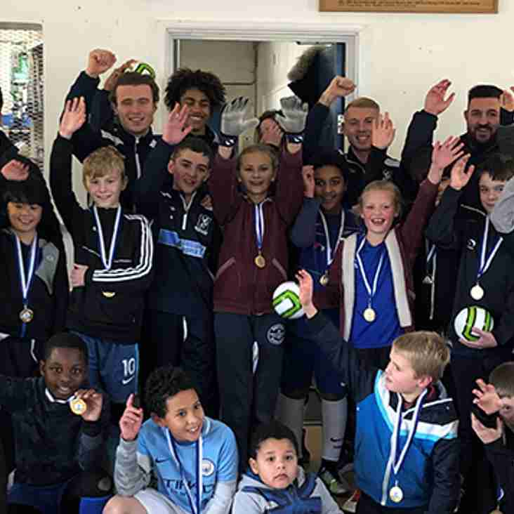 Enfield Town Football School Presentations