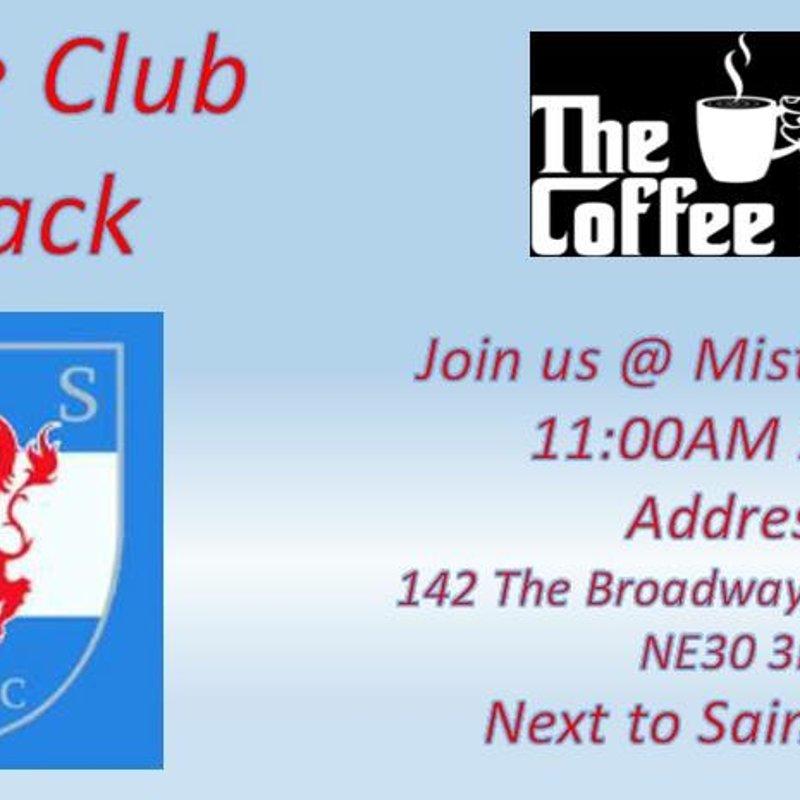 #NSRFCNews - Coffee club is back...