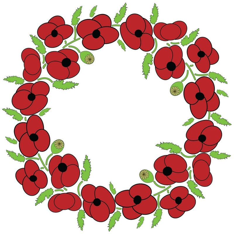 Ex Forces Chris McCabe to lay wreath 11/11...