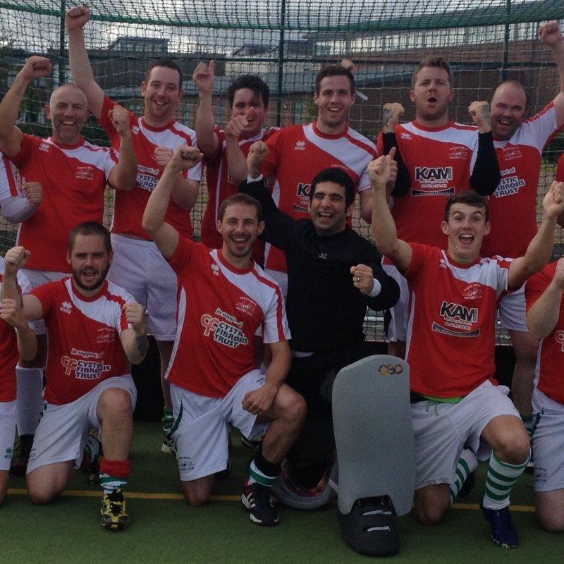 Mens First Team beat Marlborough B 8 - 0