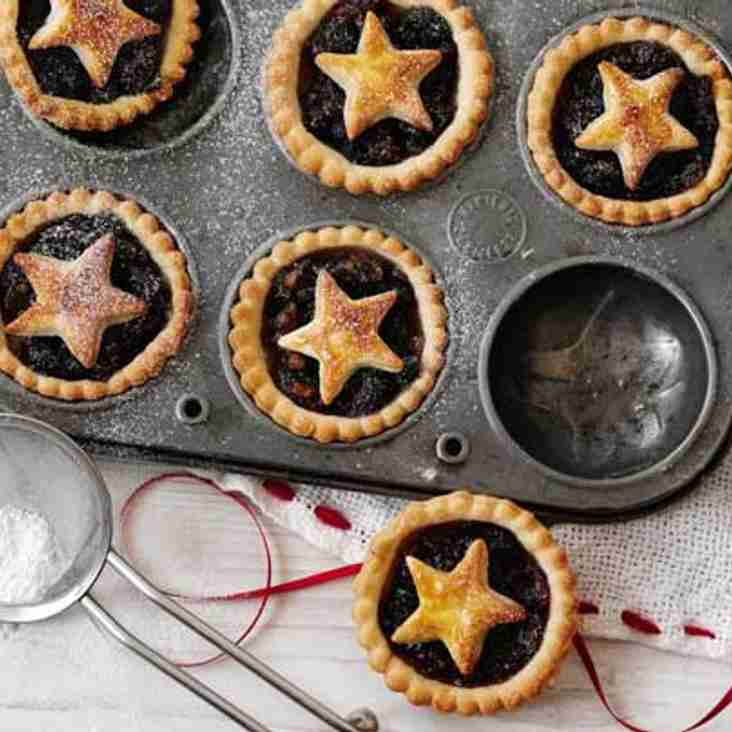 Pizza and mince pies!