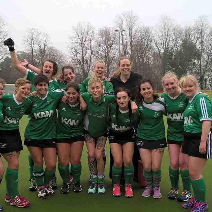 Awesome win for our ladies 1s