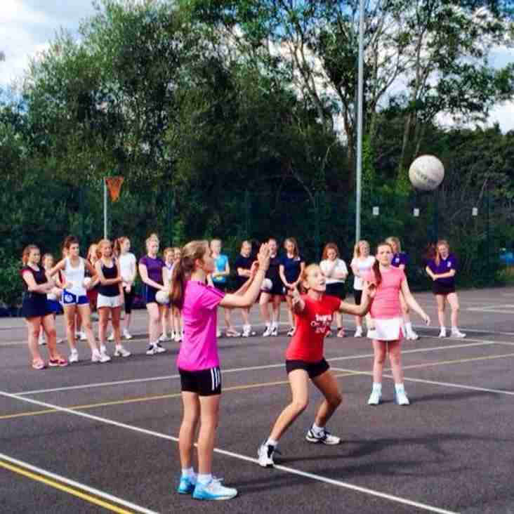 Half term Netball Camp run by Schools of Sport