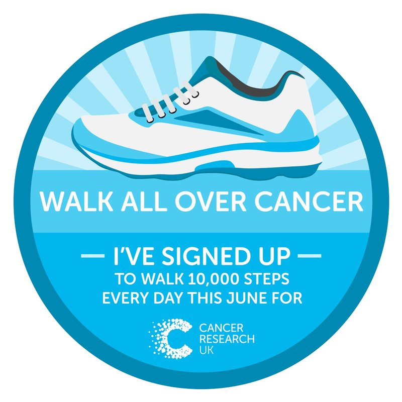 Walking All Over Cancer