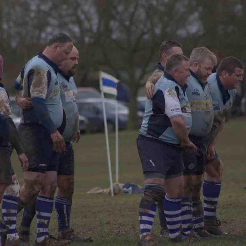 Mens own 3's vs KRFC 4's/Vets. Photos by Hollie Latham