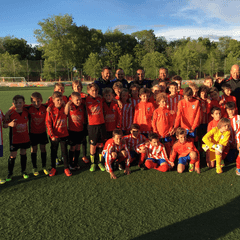 U11's battle it out in Madrid!