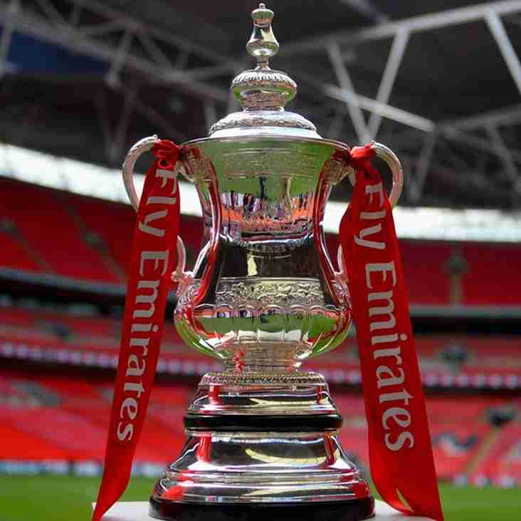 FA CUP AND VASE DRAWS RELEASED!
