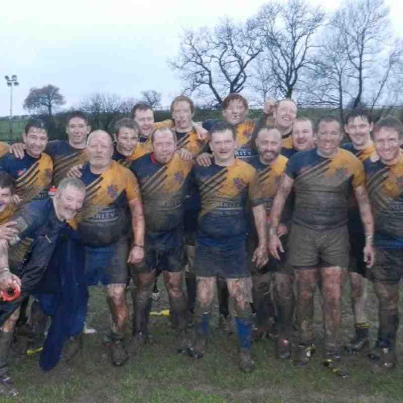 Claverdon Vets v Five Ways 2s - In The Mud